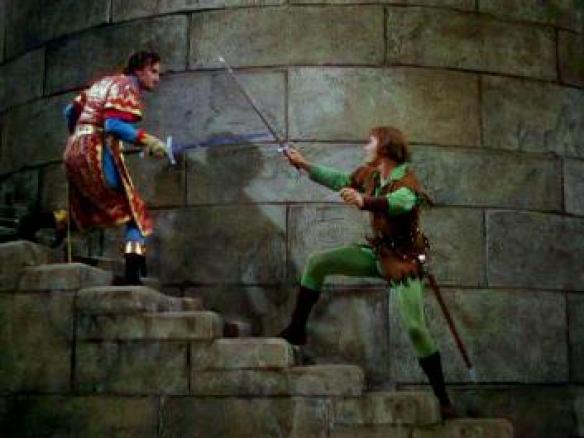 Adventures of Robin Hood Climactic Duel