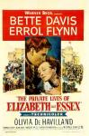 Private Lives of Elizabeth and Essex poster