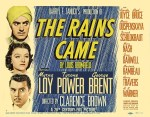 rains came poster