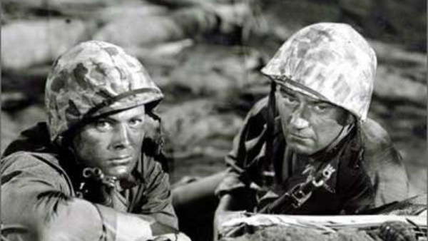 comparison of the movies the platoon and the sands of iwo jima Watch hamburger hill movie trailers, exclusive videos the surreal metaphysics of platoon director john irvin reaches back to such classic combat films as the sands of iwo jima and pork chop hill for his inspiration here.