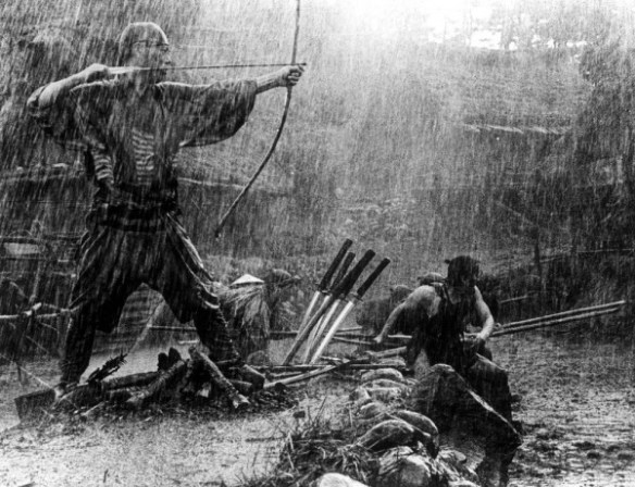 seven-samurai-1954-005-archer-and-fighters-in-the-rain