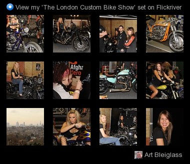 Art Bleiglass - View my 'The London Custom Bike Show' set on Flickriver