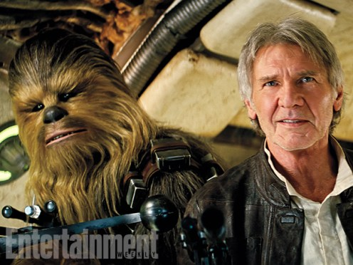 Han Solo and Chewie!