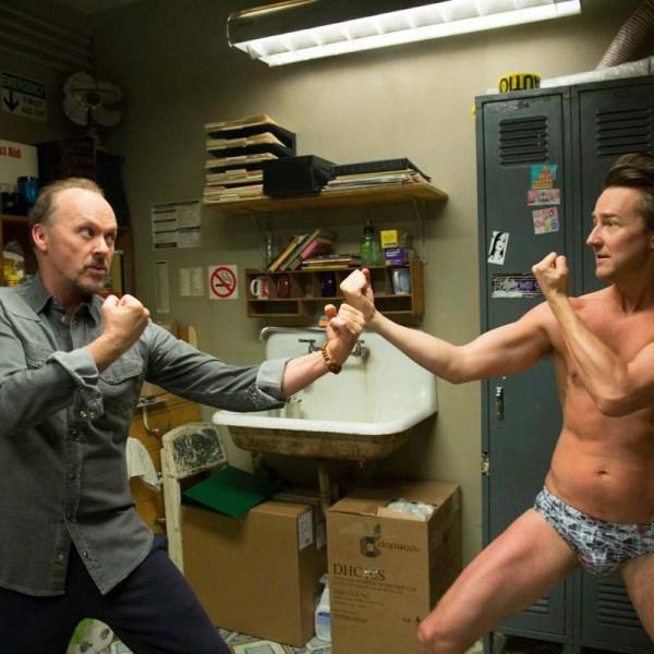 Keaton and Norton face off in Birdman