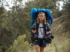 Cheryl hiking in Wild