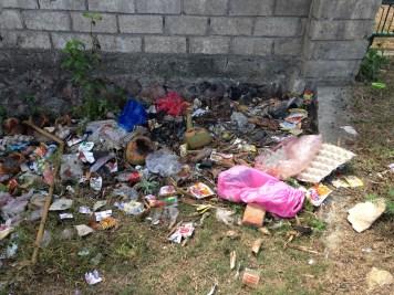Plastic waste Lombok