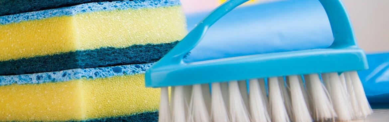 Bürste zum Fliesen reinigen