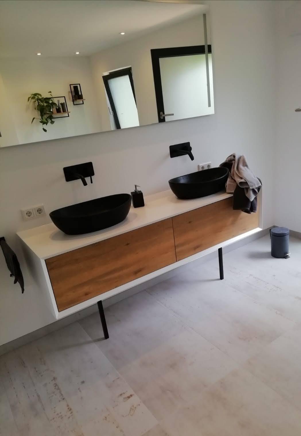 Eindruck Badezimmersanierung in Solingen mit Fliesenfachbetrieb Wilke; Fliesenleger in Solingen
