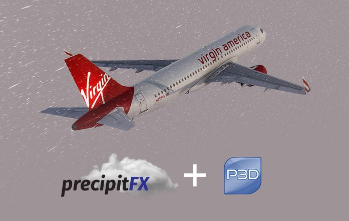 PrecipitFX now available for Prepar3D as a free upgrade (Video)