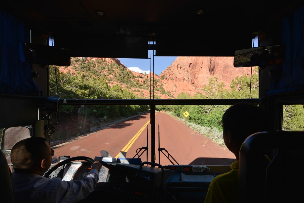 TakeTours Bus ride LA to Bryce Canyon