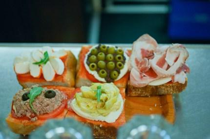 Assorted snacks, Enoteca delle antiche mura, Sirmione