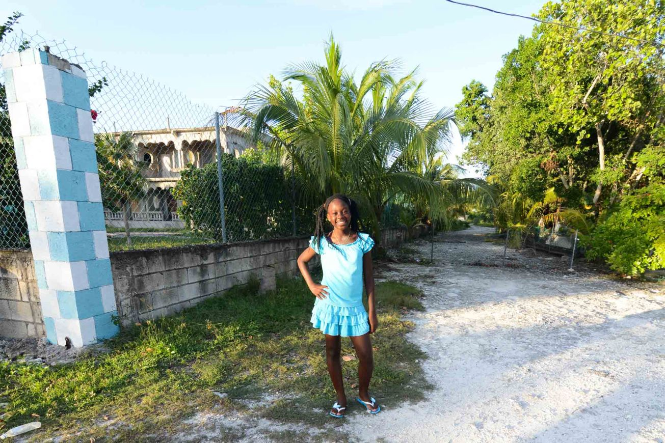 Negril Jamaica Local Girl