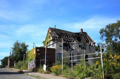 Detroit Broken Roof