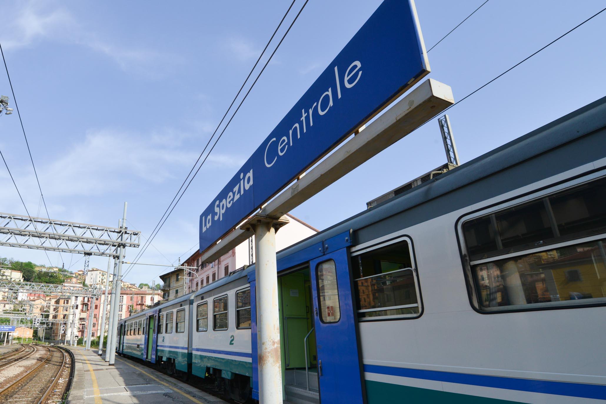 Cinque Terre, La Spezia Train Station