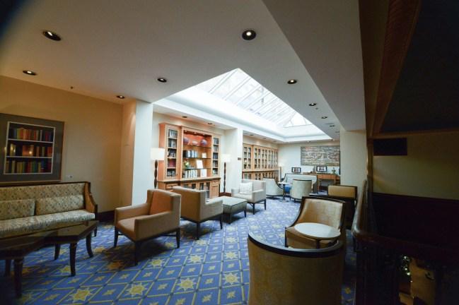 The Heathman Hotel Portland Library
