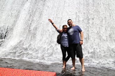 Villa Escudero Waterfall