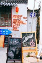 Coffee shop signage beijing china