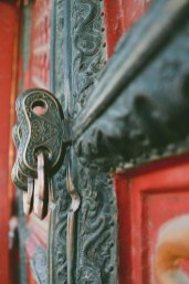 Forbidden Palace door details