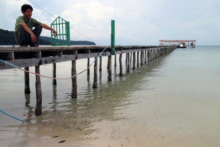Pier of Saracen Bay