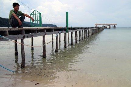 Pier of Saracen Bay