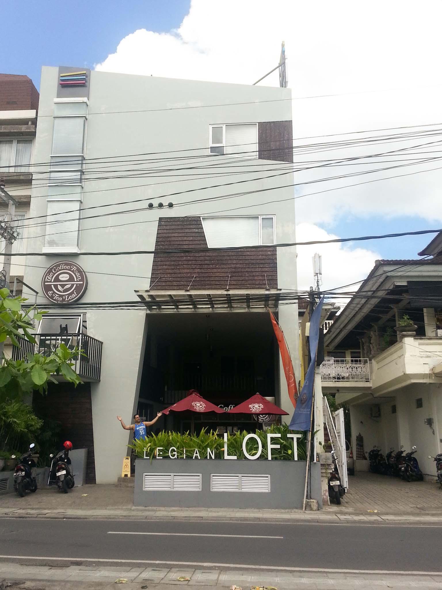 Loft Legian Hotel, Bali from the outside