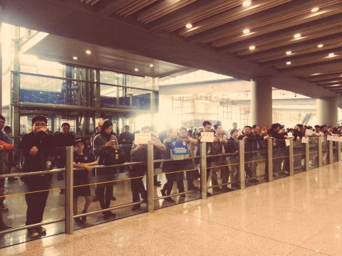 Beijing International Airport Arrivals