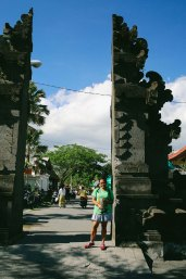 Gate to Tanah Lot
