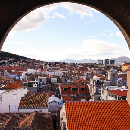 View from the Bell Tower Split