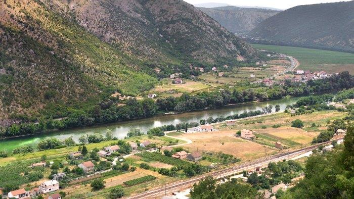 Beautiful scenery in Bosnia and Herzegovina