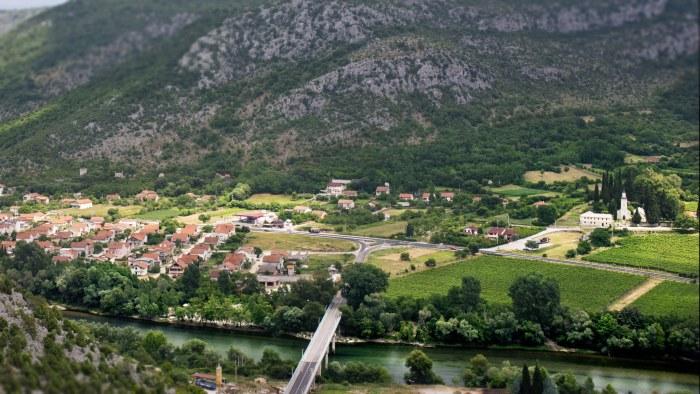 Beautiful scenery Bosnia and Herzegovina