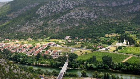 Beautiful scenery Bosnia and Herzegovina