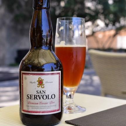 San Servolo, yummy red beer