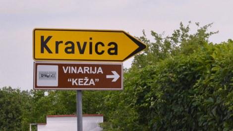Kravice Falls Kravica Sign