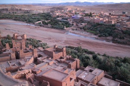 Kasbah at Sunset