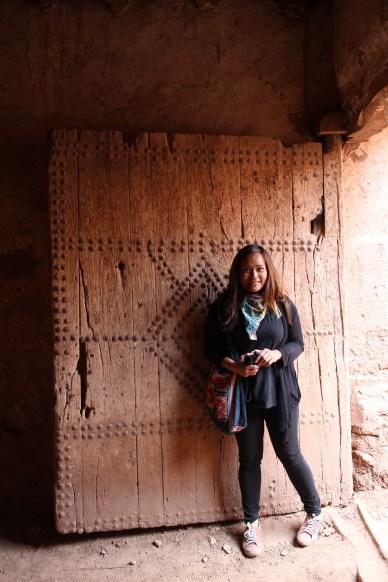 Celeste loves a good solid door