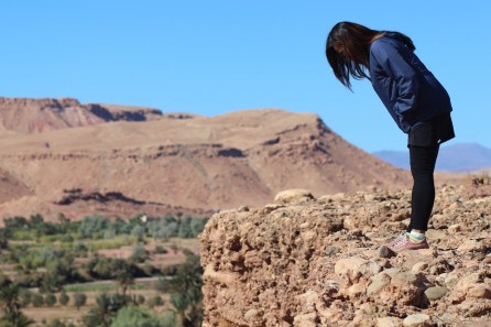 Hiking in Ait Ben Haddou