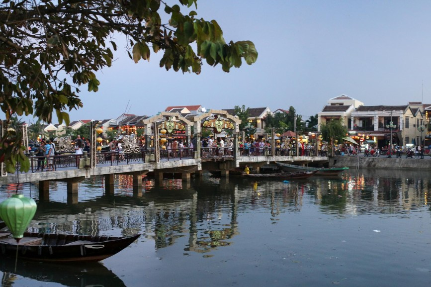 Foot Bridge Crossing Hoi An