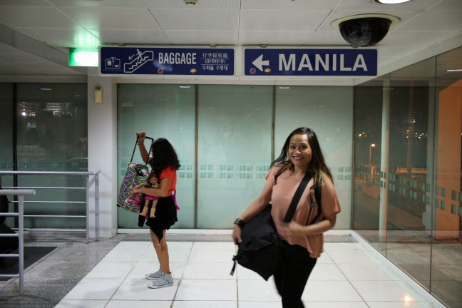 Arriving to the Philippines