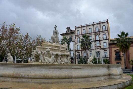 Winter in Seville