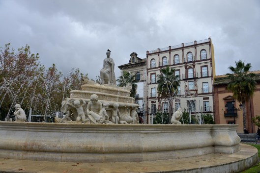 Winter in Seville