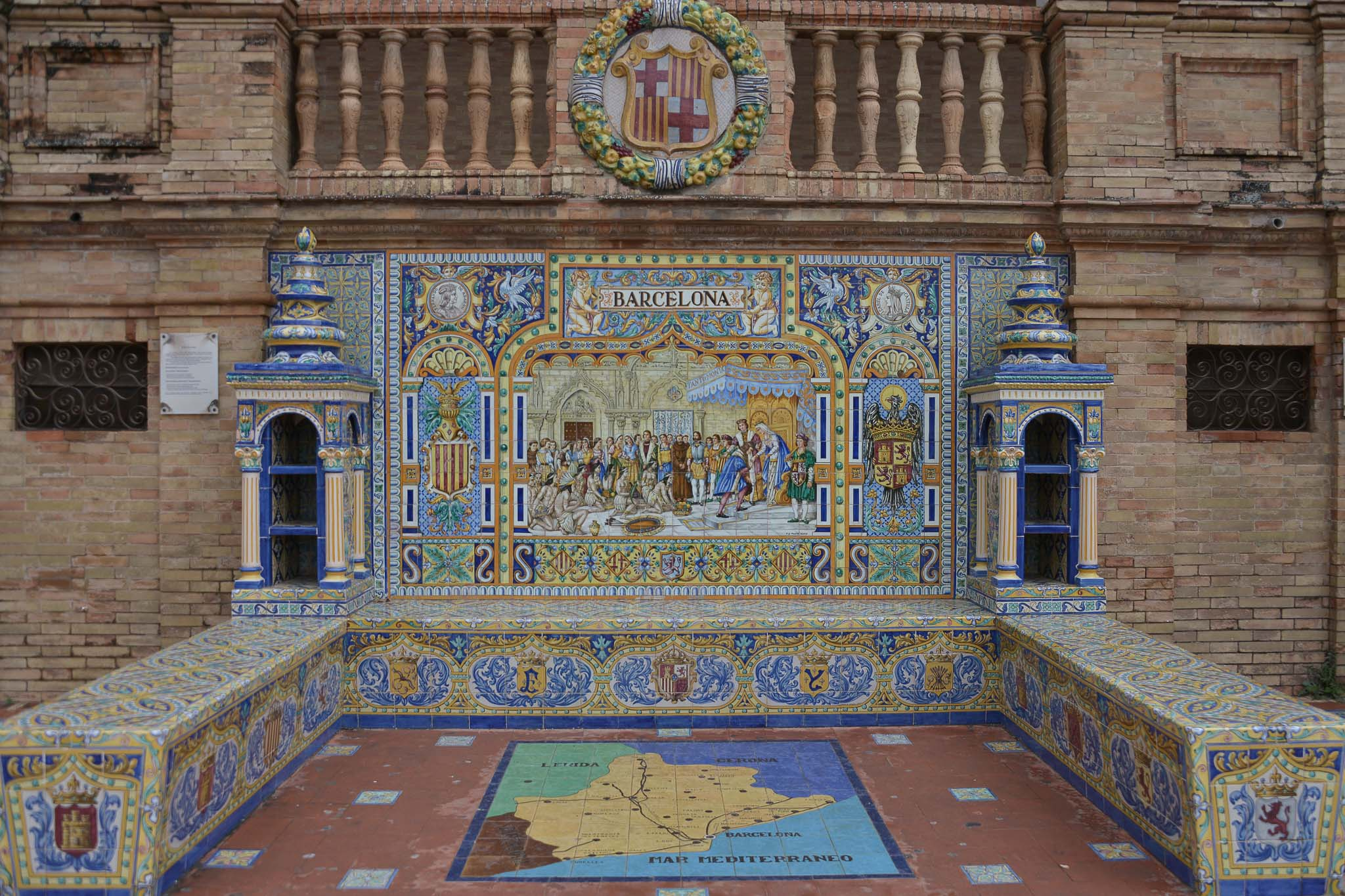 Alcoves of Spain's provinces