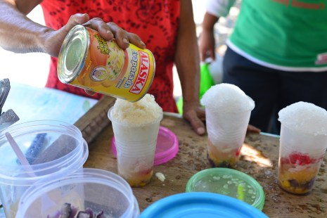 Halo-Halo made in every street corner, fillings vary.