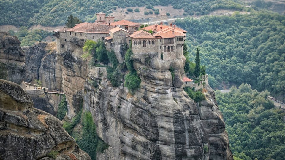 The Holy Monastery of Varlaam, Meteora Greece