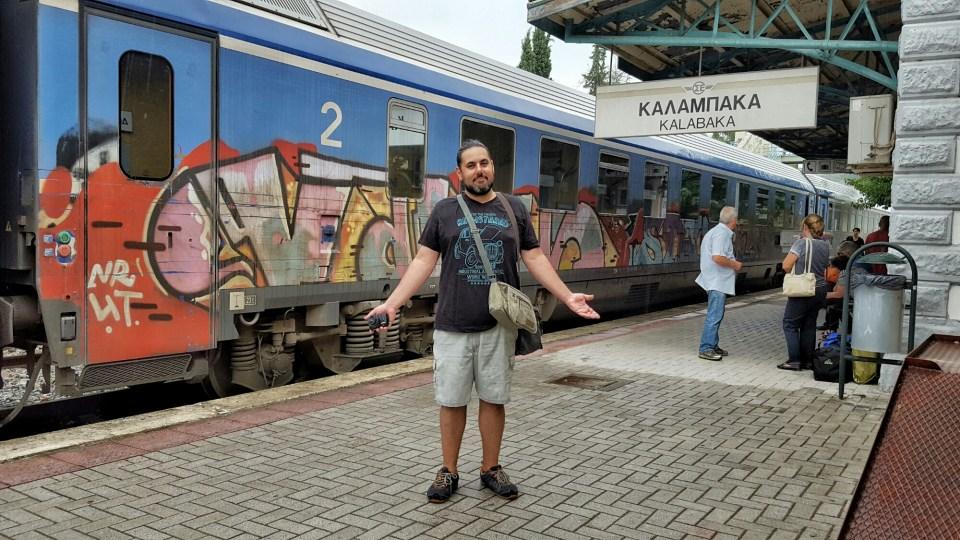 Kalabaka Train Station