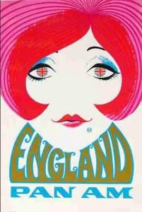DESIGNER UNKNOWN: PAN AM ENGLAND Circa 1970