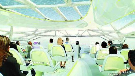 Airbus Concept Cabin, Image Airbus