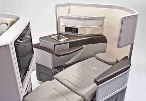 Recaro CL6710 Business Class seat, Image Recaro