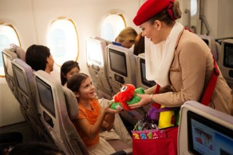Emirates Fly With Me Monsters, Image Emirates Press Office