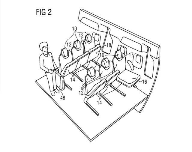 Airbus Flip Seat Big Picture