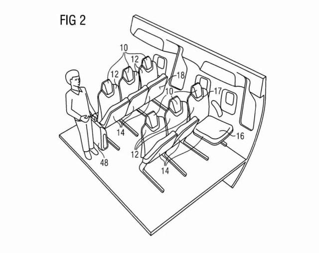 Airbus Flip Seat Big Picture